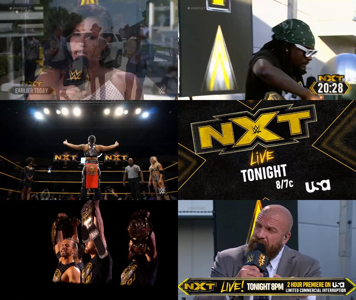 WWE NXT 2019 10 02 Pre Show WEB h264-HEEL