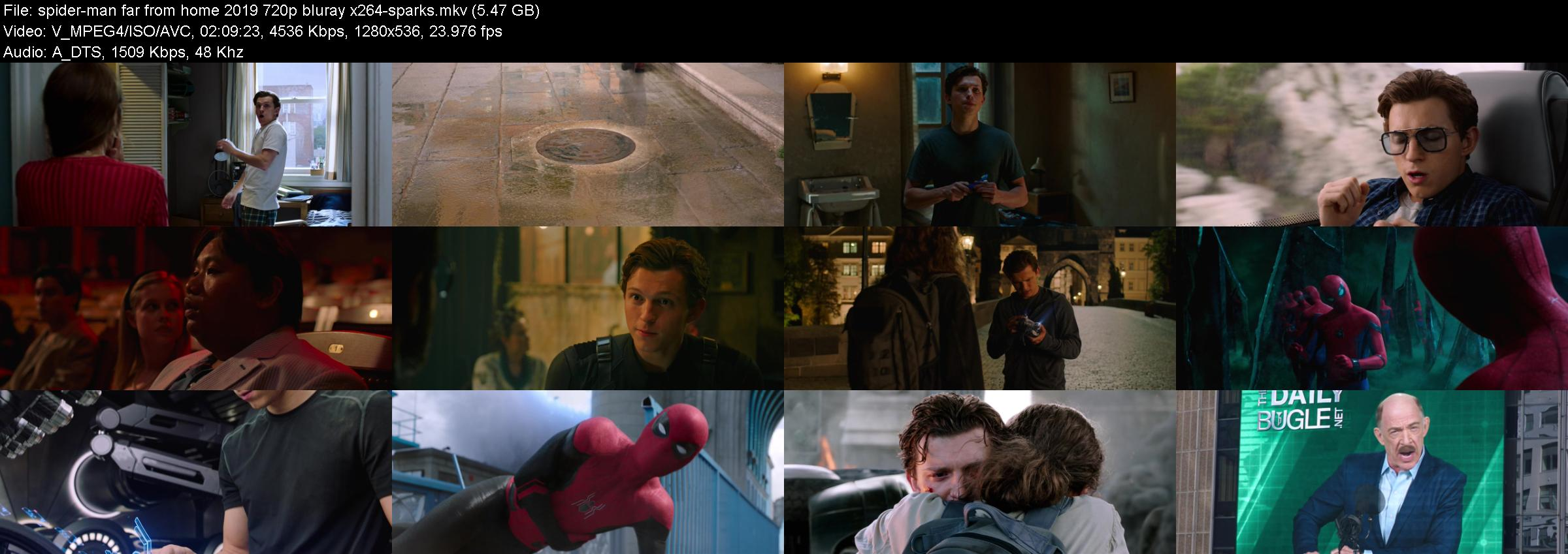Spider-Man Far from Home 2019 720p BluRay x264-SPARKS