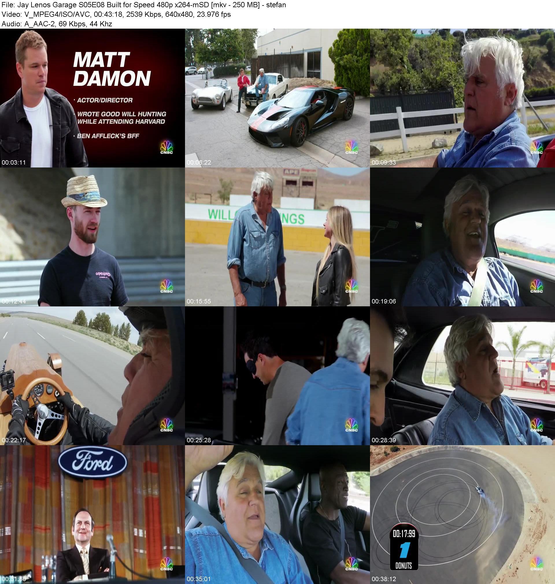 Jay Lenos Garage S05E08 Built For Speed 480p X264-mSD [1