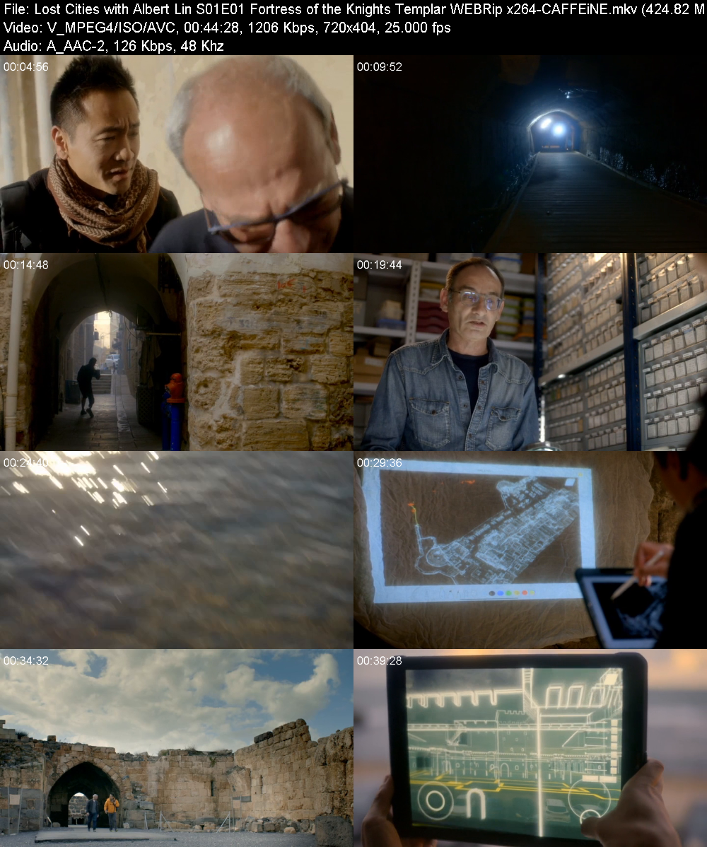 Lost Cities with Albert Lin S01E01 Fortress of the Knights Templar WEBRip x264 CAF...