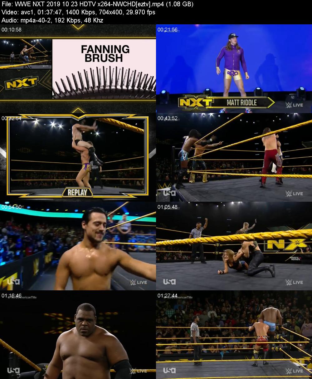 WWE NXT 2019 10 23 HDTV x264-NWCHD