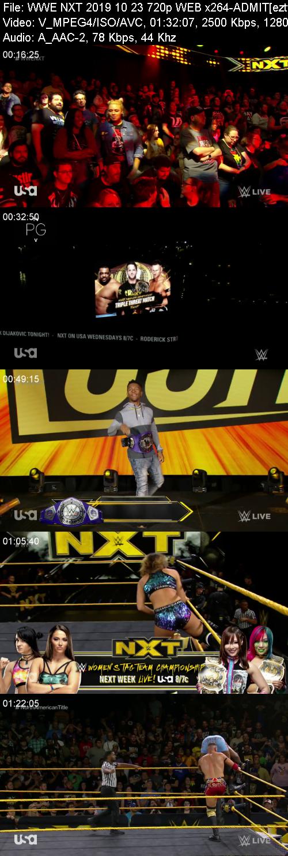 WWE NXT 2019 10 23 720p WEB x264-ADMIT