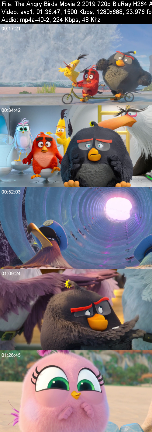 The Angry Birds Movie 2 2019 720p BluRay H264 AAC-RARBG