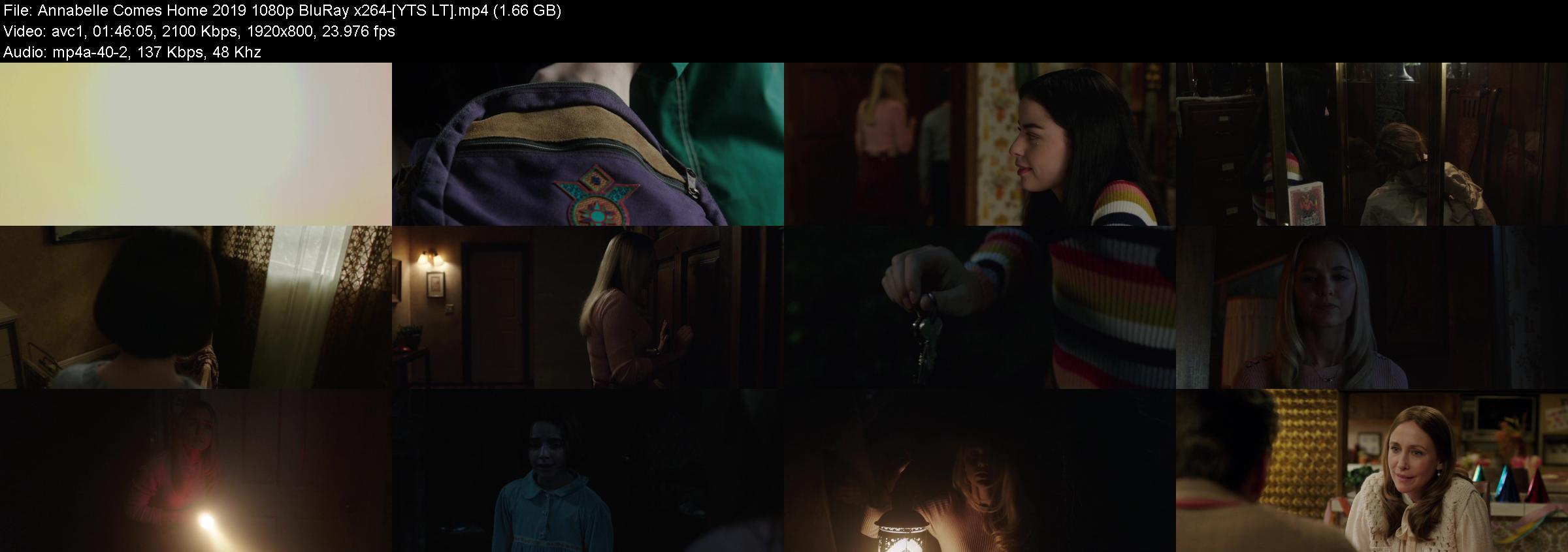 Annabelle Comes Home (2019) BluRay 1080p YIFY